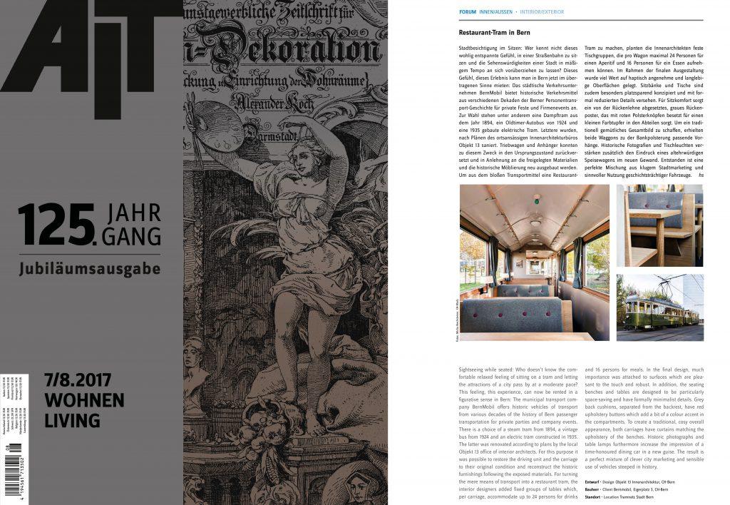 Presse for Innenarchitektur magazin